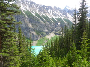 Hiking Lake Louise 1